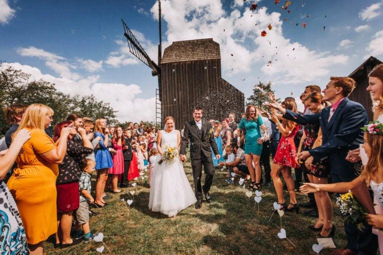 svatba klobouky u brna